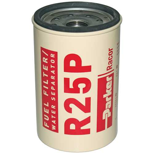 Racor R25, R25S, R25T, R25P Series Diesel Spin-On Replacement Elements