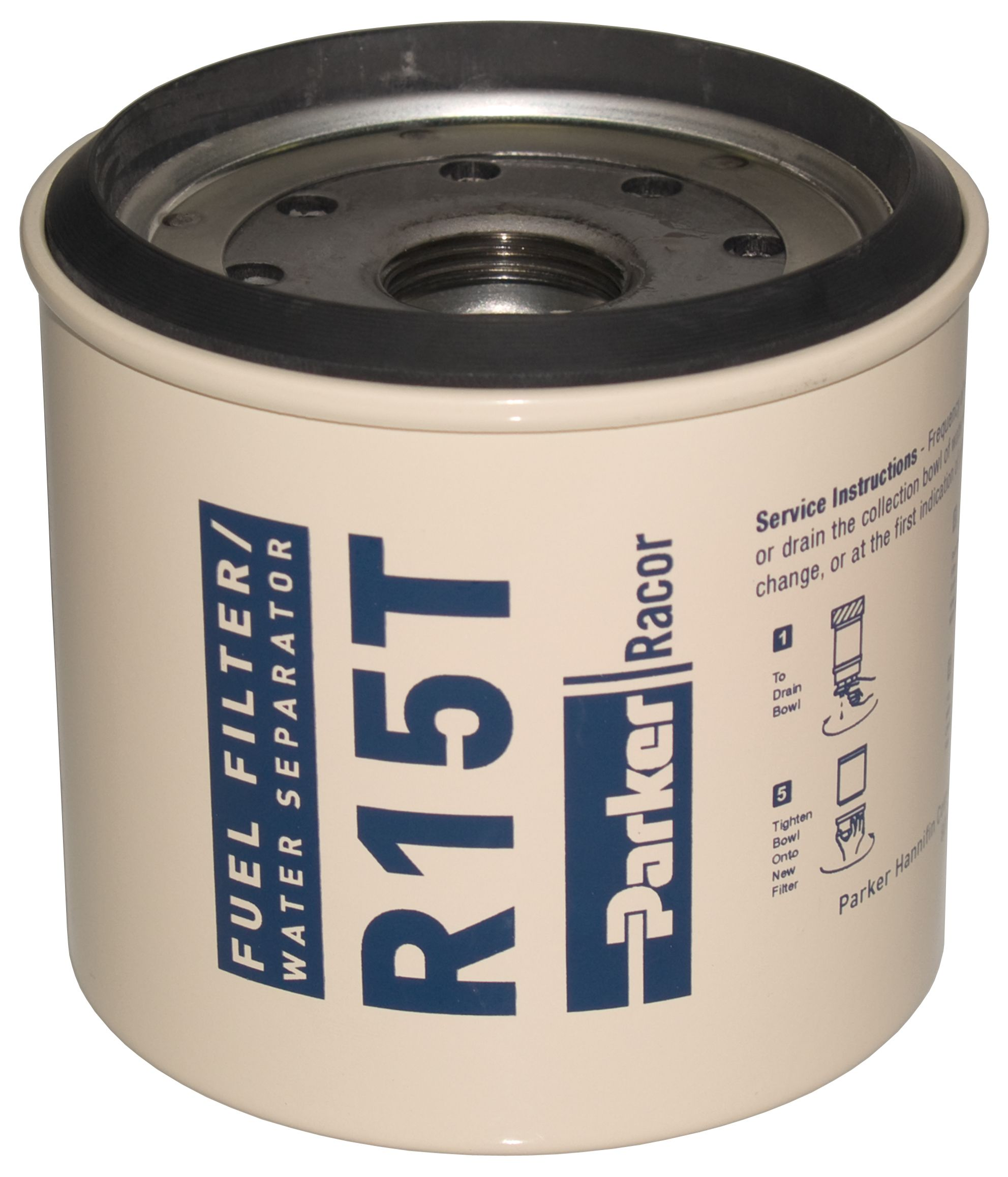 Racor R15 R15s R15t R15p Series Diesel Spin On Replacement Elements Parker Marine Fuel Filter