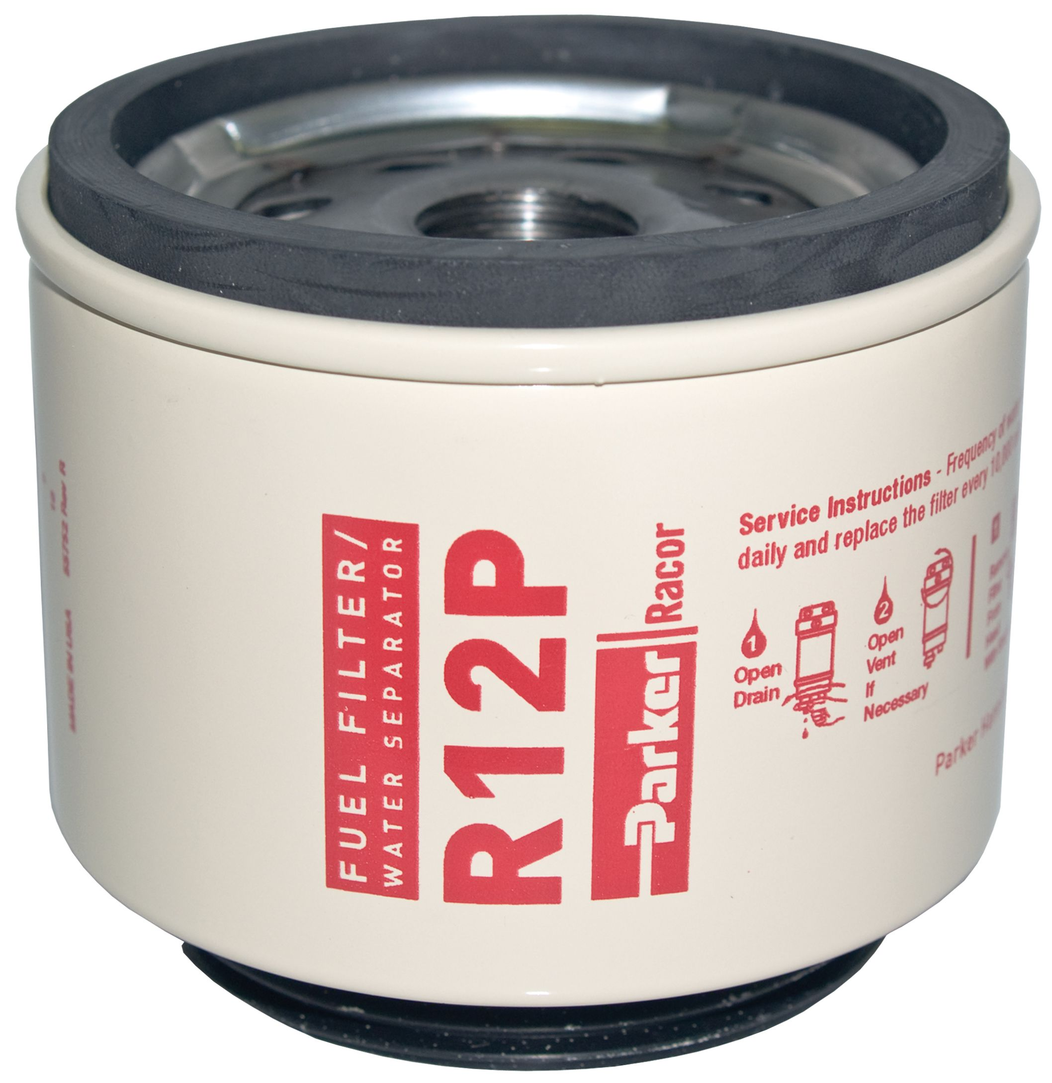 Racor R12 R12s R12t R12p Series Diesel Spin On Replacement Elements Parker Fuel Filters