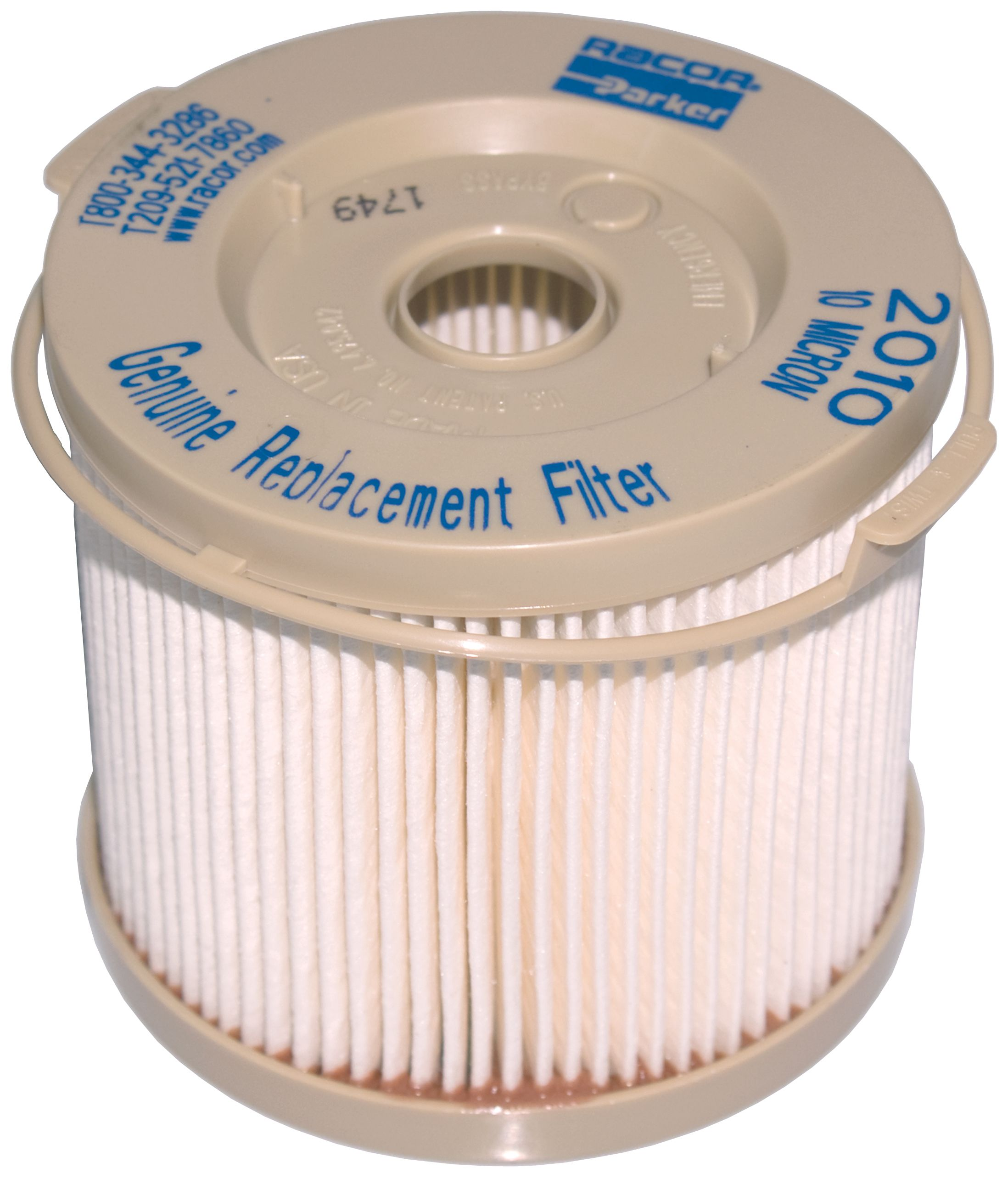 RACOR FUEL FILTER TURBINE SERIES REPLACEMENT 2010TMOR 10 MICRON BLUE 3 PAC SALE